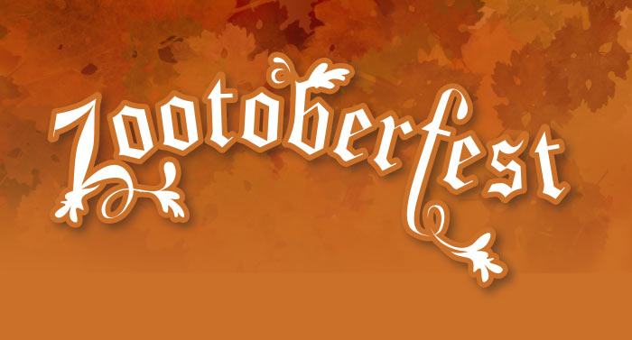Wordmark created for Zootoberfest