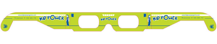 3D glasses are trendy and fun for Kids