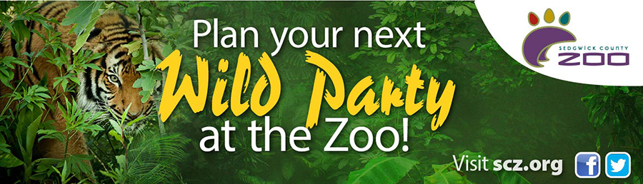 Large signs to promote coporate events at the Zoo