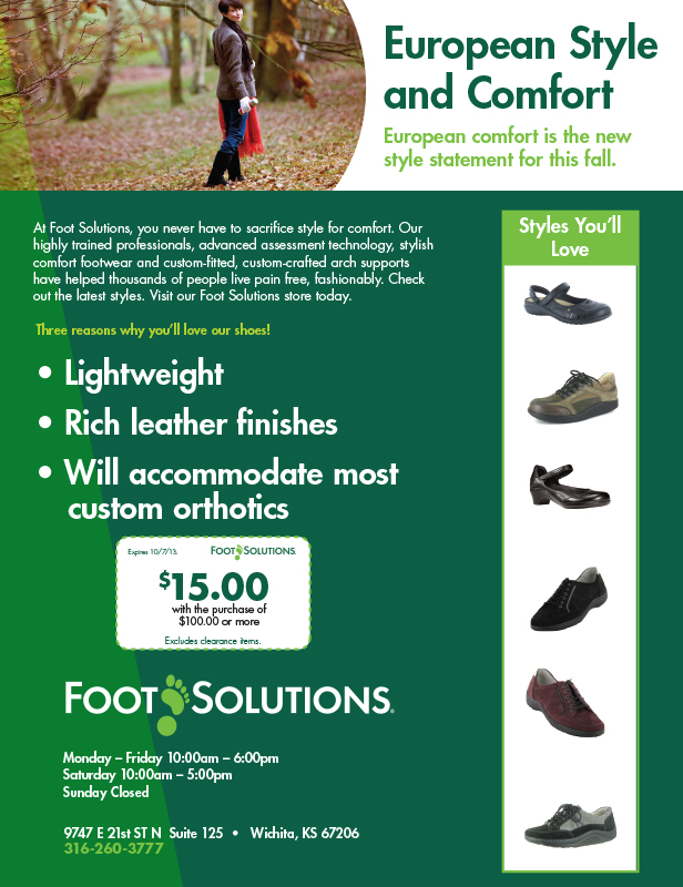 Foot Solutions Magazine Ad